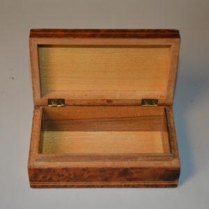 Petite boite en palissandre de style Charles X