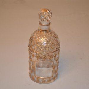 Guerlain Paris - Flacon de parfum aux abeilles or