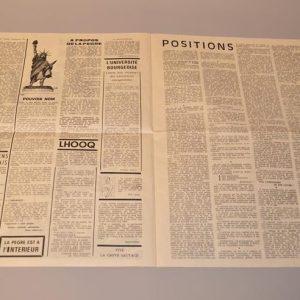 Le Pavé - TRACT N° 1 - Mai 1968 - Comité d'information révolutionnaire