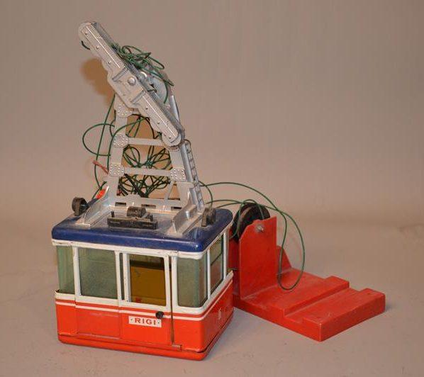 LEHMANN – Téléphérique – RIGI 900 – jouet ancien
