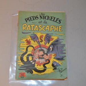 """Les Pieds Nickelés """"Et le Ratascaphe"""" - n° 25 - 1955 - EO"""