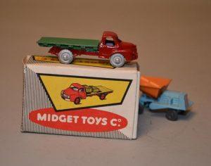 Midget TOYS Co série A - Camion rouge - car - voiture micro-miniature