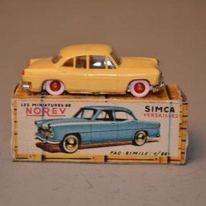 NOREV - Les Micro-miniatures - Modèle n° 1 SIMCA Versailles