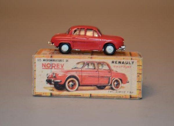 NOREV - Les Micro-miniatures - Modèle n° 4 Renault Dauphine