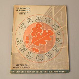 Catalogue la Redoute à Roubaix - Automne-Hiver - 1953 / 1954