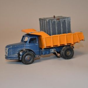 DINKY TOYS - 34 - Berliet Meccano - Camion benne + Container