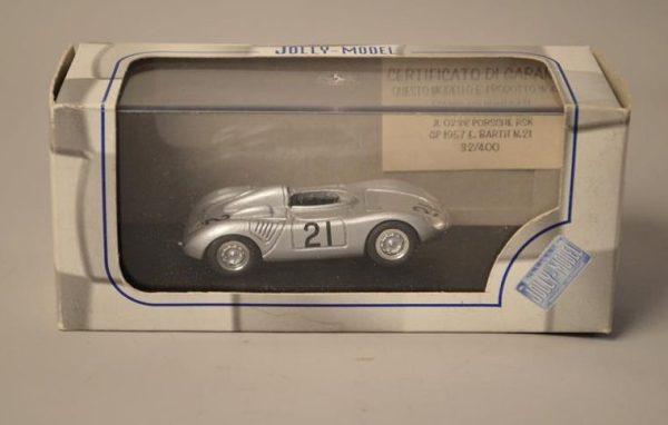 JOLLY-MODEL - JL0238 - PORSCHE RSK GP 1957 - E.BARTH N°21