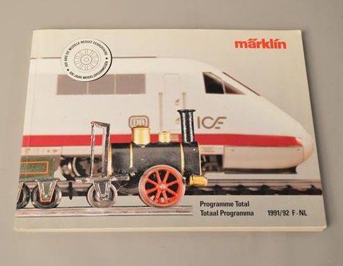 Marklin : Catalogue modèle réduit 1991/92 - Train miniature