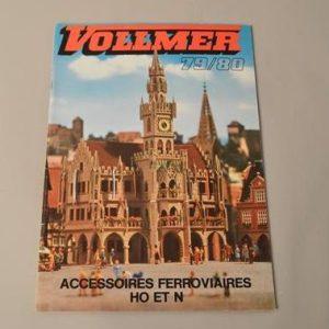 Vollmer : Catalogue accessoires ferroviaires HO et N - 1979/80