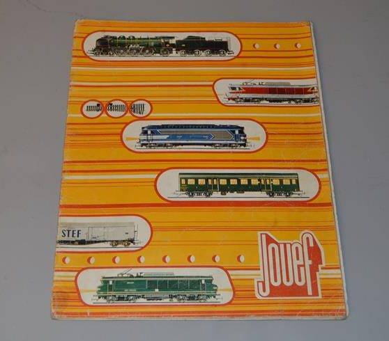 JOUEF : Catalogue de jouet - train ferroviaire - circuits routiers - 1974
