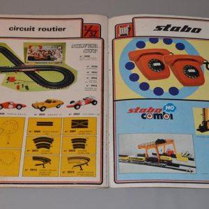 JOUEF : Catalogue de jouet - train ferroviaire - circuits routiers - 1974