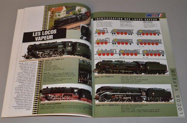 Catalogue de jouet - train miniature ferroviaire - 1995 / 1996
