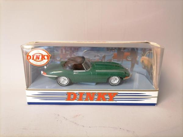 Matchbox Dinky Collection - Jaguar E-Type MK 1967 - Vert