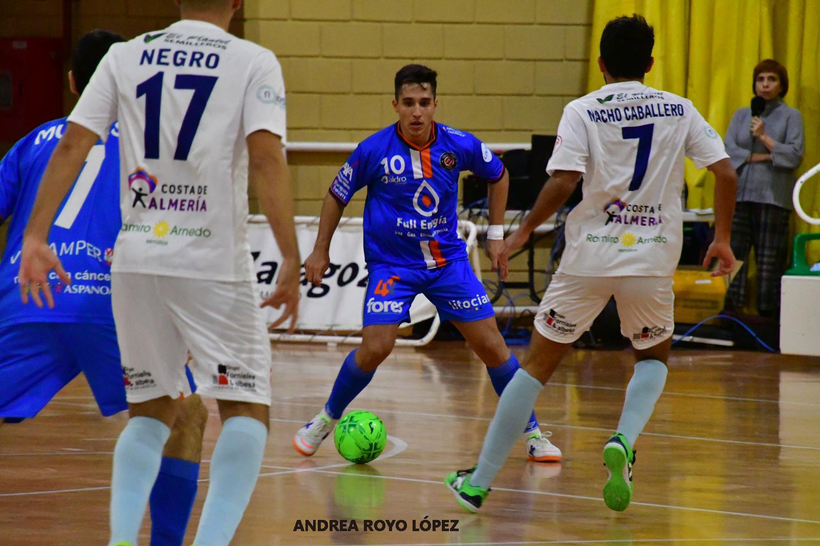 Abultada derrota de Durán Ejido Futsal en Zaragoza