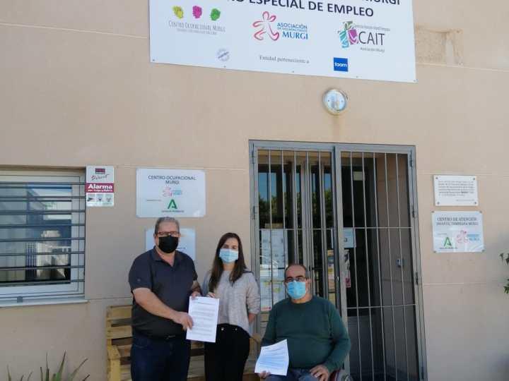 El CD El Ejido Futsal y la Asociación Murgi promocionan el deporte inclusivo