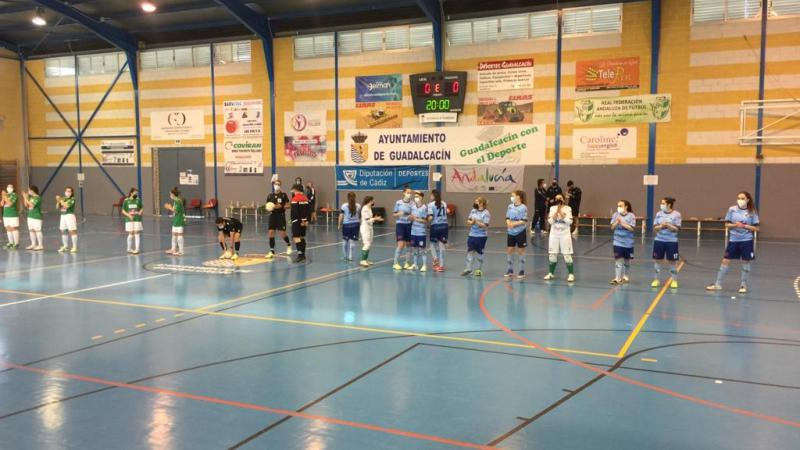 Mabe Ejido Futsal sufre en la pista de Guadalcacín