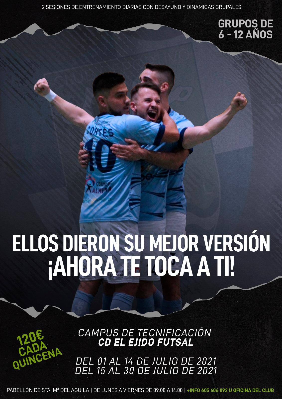 El CD El Ejido Futsal lanza su Campus de Tecnificación