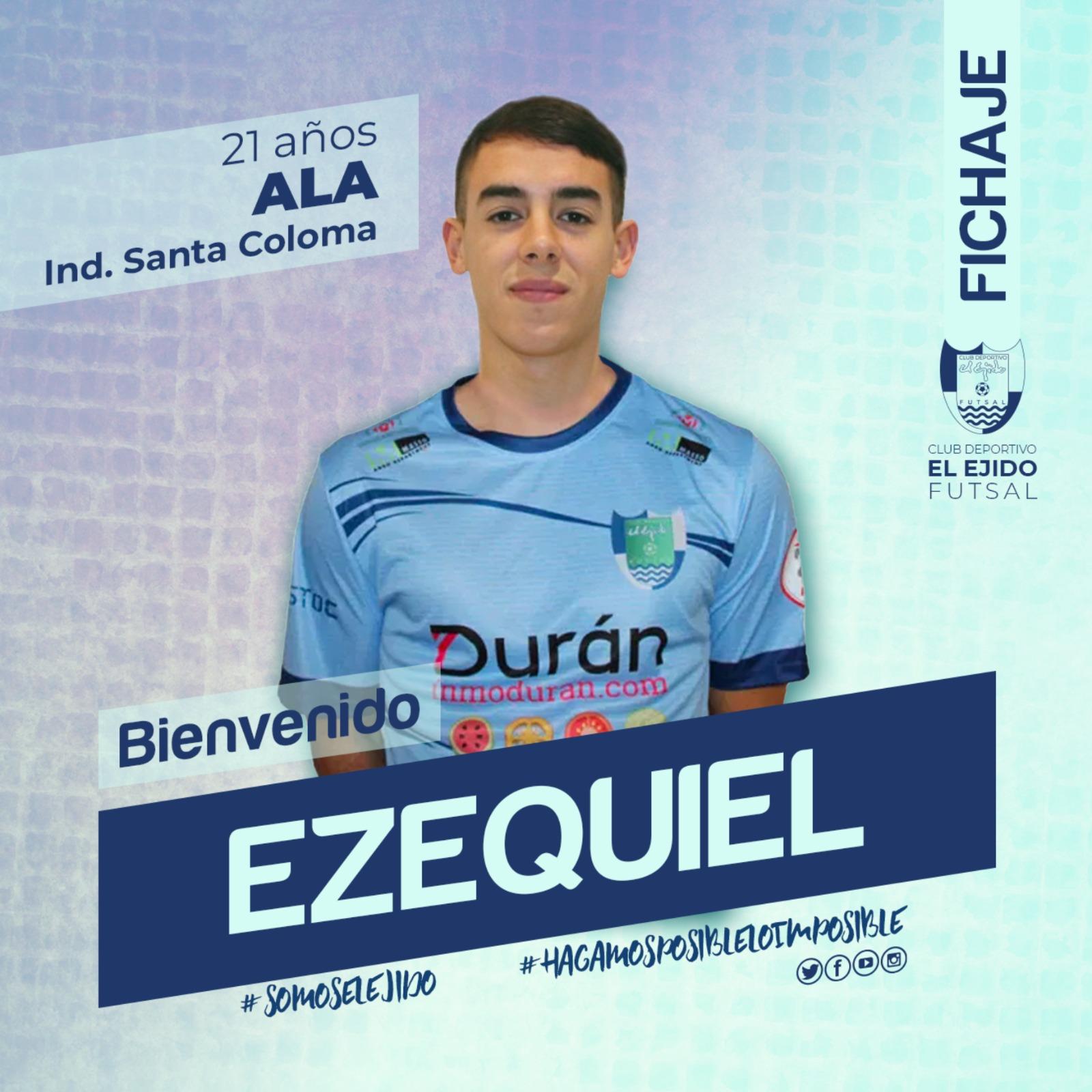 El ala Ezequiel Ramírez se une a la familia del CD Ejido Futsal