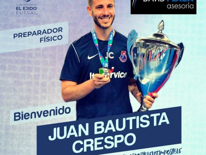 El preparador físico Juan Bautista Crespo vuelve a casa