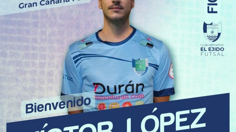 Víctor López refuerza la portería de Durán Ejido Futsal