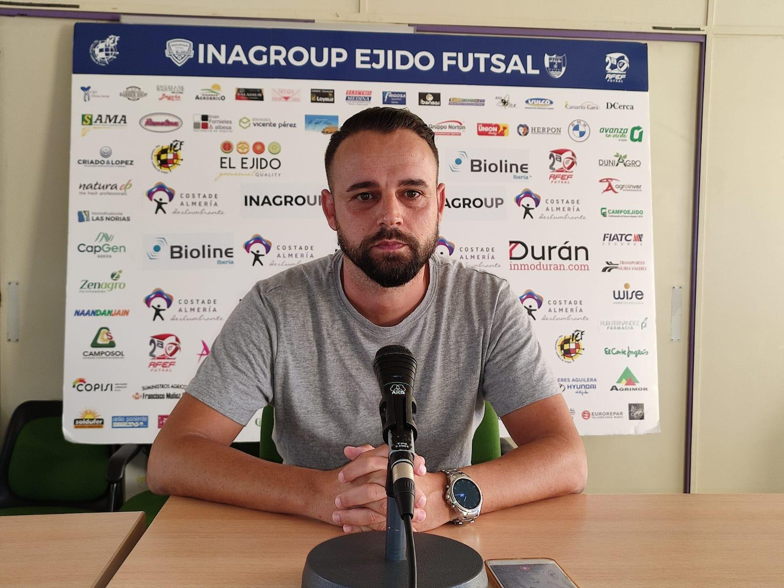 Inagroup El Ejido Futsal se desplaza a Calvia en el primer encuentro de José Fernández al frente del equipo