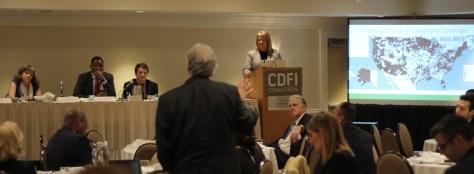 Future of CDFIs panel at the 2016 Institute