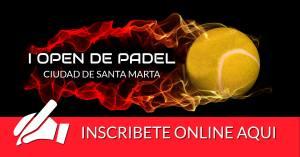 Inscripcion Open de Padel Santa Marta