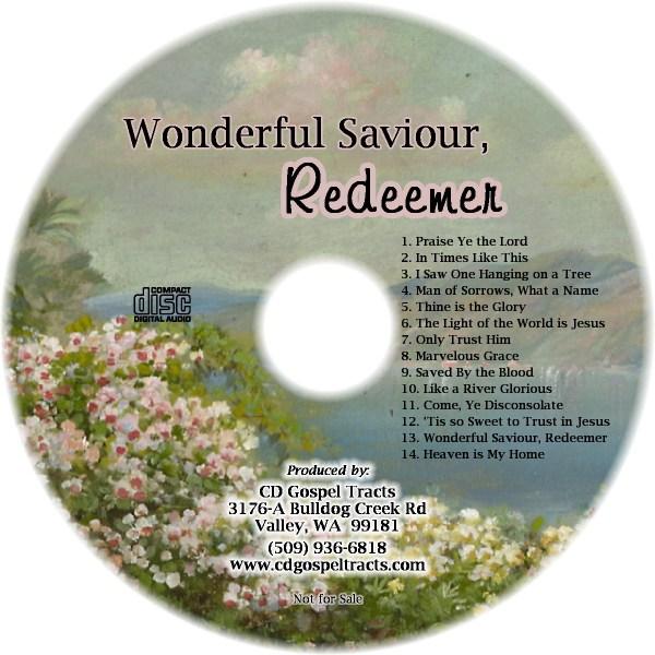 wonderful saviour redeemer