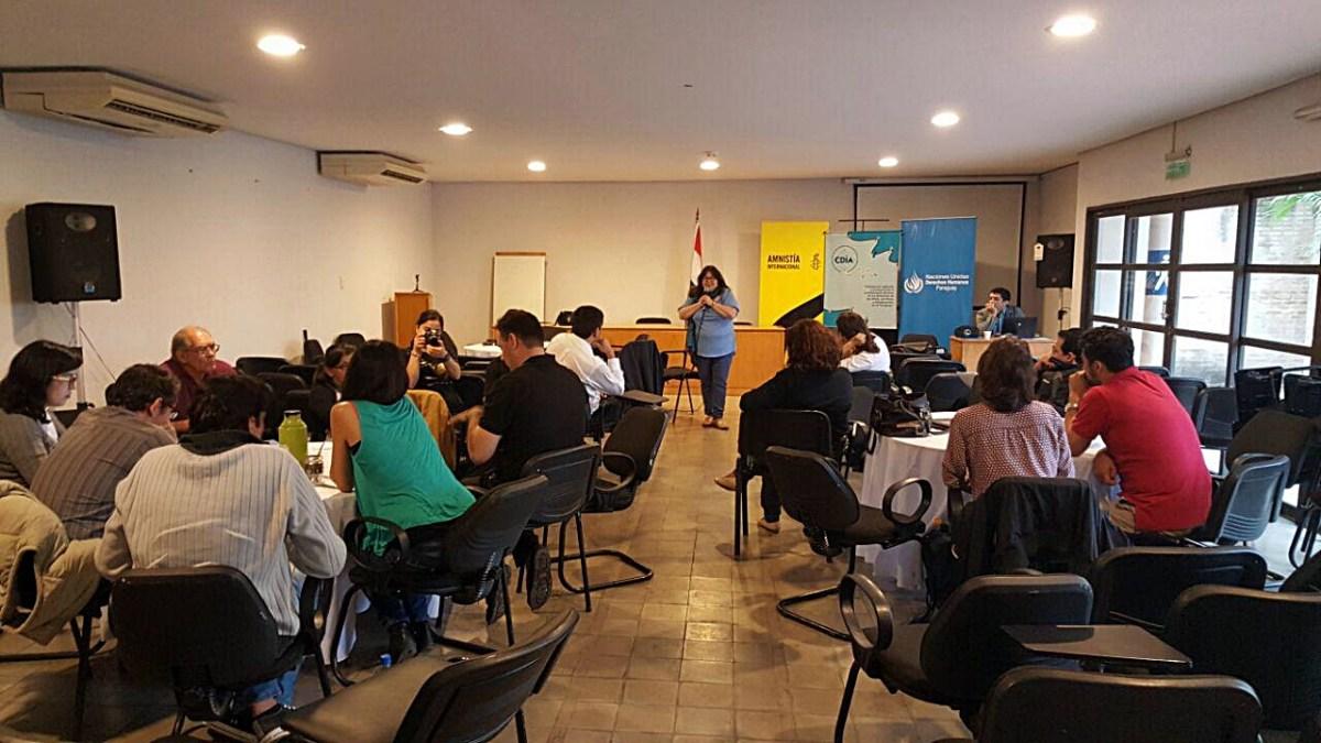 EPU: organizaciones de DDHH dan seguimiento a recomendaciones internacionales al Paraguay