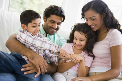 strengthen caregiver and child relationship with parents
