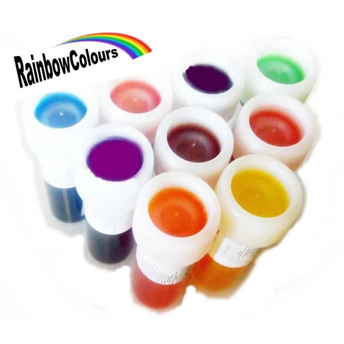 colorant alimentaire liquide chaque