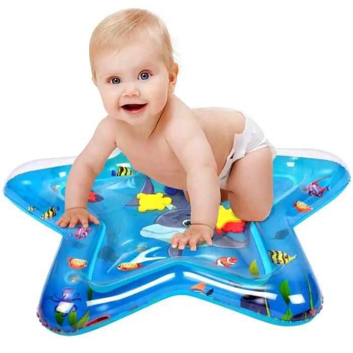 pfj tapis d eau gonflable de bebe centre de jeu d