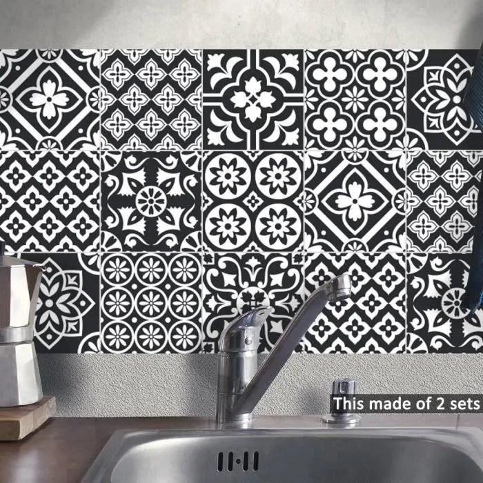 murale carrelage blanc