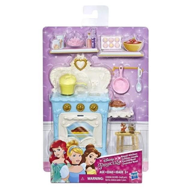 Hasbro - Disney princesse - Cuisine royale - E22 - Cuisine + accessoires  pour poupée royale - Neuf