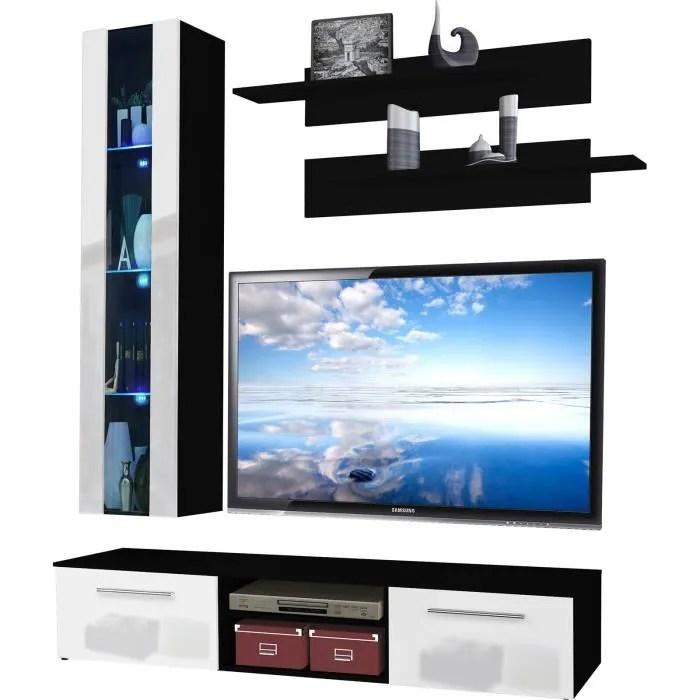 ensemble meuble tv suspendu avec 1