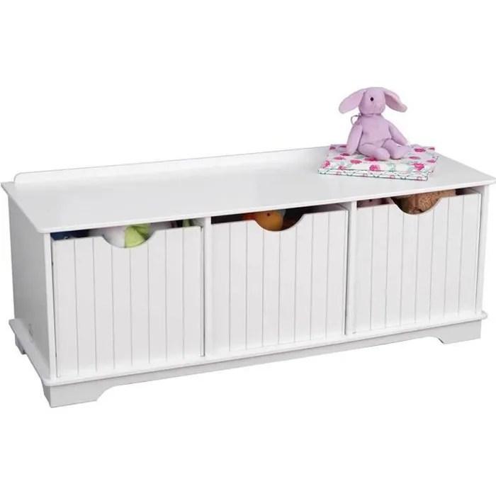 banc coffre de rangement pour jouet pour chambre d enfant