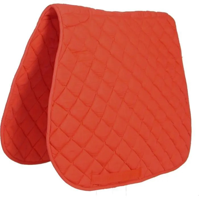 tapis de selle cheval rouge