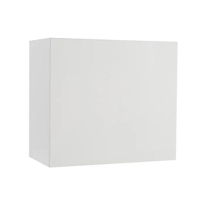 miliboo element mural colored carre laque blanc