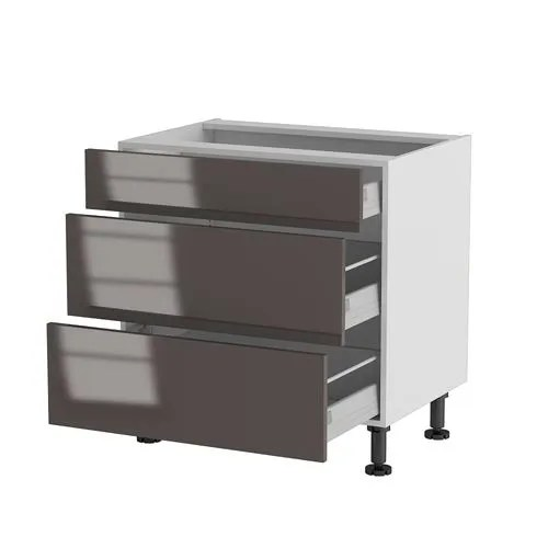 meuble cuisine bas 80cm 1 tiroir 2