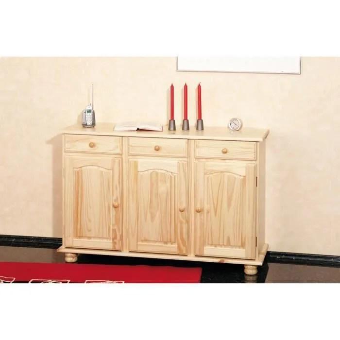 buffet abaco commode bahut meuble bois