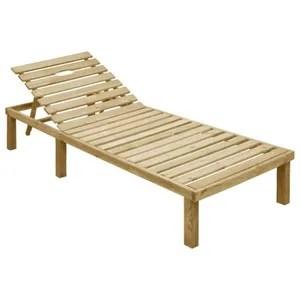 chaise longue transat bain de soleil en