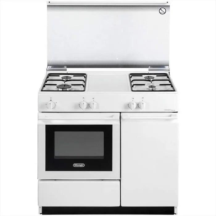 De Longhi Sew 8540 Ned Linea Smart Cuisiniere A Gaz Avec Four Electrique 4 Feux Dimensions 86 X 50 Cm Classe B Achat Vente Cuisiniere Piano Cdiscount