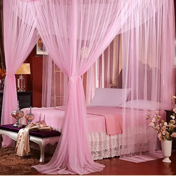 avanc moustiquaire de lit baldaquin voile arceau c