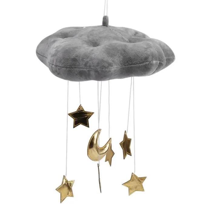deco chambre bebe etoile nuage lune