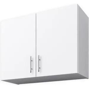 meubles haut de cuisine blanc 100 cm