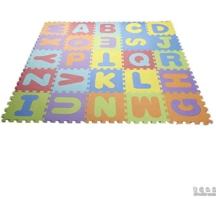 auabys tapis de jeu en mousse tapis de jeu puzzle