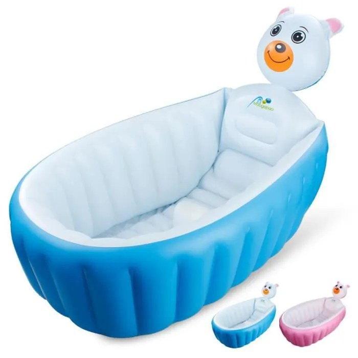 baignoire gonflable bebe douche confort pliable