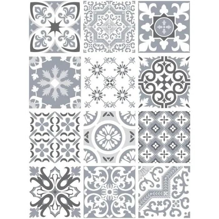 sticker carrelage carreaux de ciment greypaste