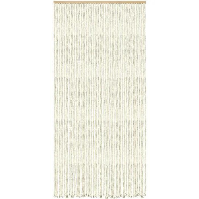 madein nature rideau de porte coton polyester cord