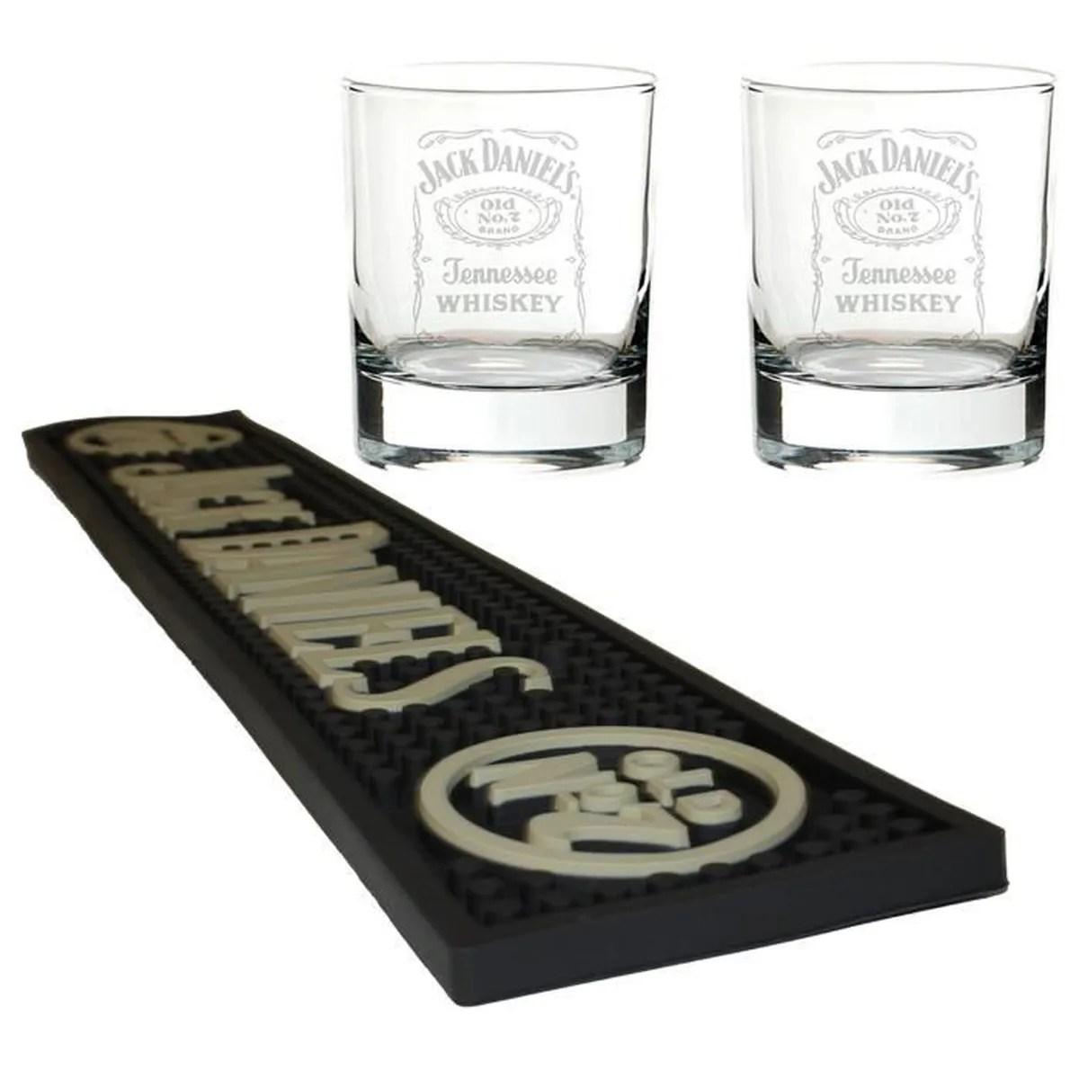tapis de bar jack daniels